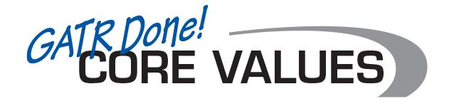 GATR Core Values